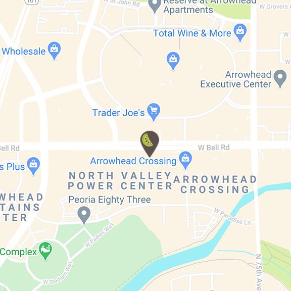 Arrowhead location