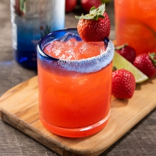 Strawberry Shaker Margarita