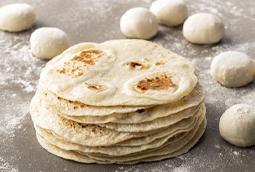 Hand Pressed Flour Tortilla Tile