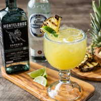 Smoky Pineapple Margarita